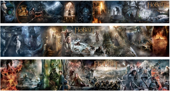 "Complete at Last: Peter Jackson's 3-Film Adaptation of J.R.R. Tolkien's ""The Hobbit"" (2012-2014)"