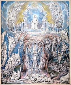 "William Blake's ""The Day of Judgment"" for Robert Blair's ""The Grave"" (1805)"