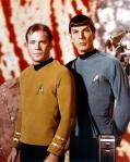 """William Shatner & Leonard Nimoy, as """"Captain Kirk & Mr. Spock"""" (Star Trek)"""