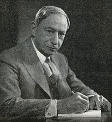 Hugo Gernsback (1884-1967), portrait by Fabian Bachrach