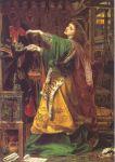 Morgan Le Fey (Frederick Sandys, 1864)